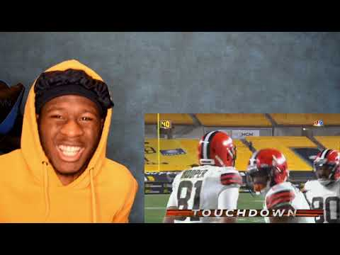 Browns win first playoff game in my life! browns vs. steelers wild card highlights nfl 2020 playoffs