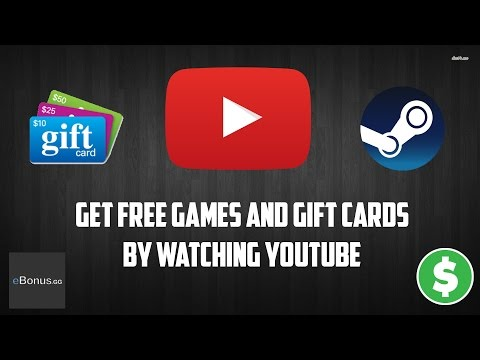 Get free steam games and gift cards by watching youtube videos!!!   ebonus.gg (working 2018)