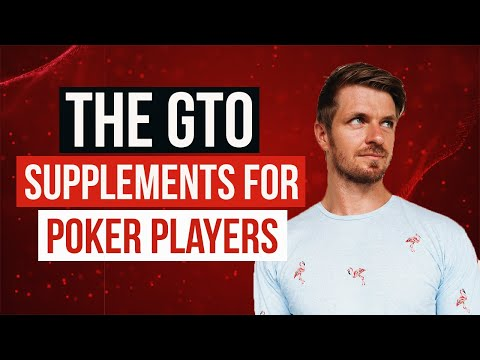 The gto supplements for poker players