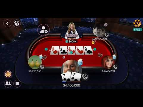 Zynga poker – free texas holdem online card games android gameplay best poker game
