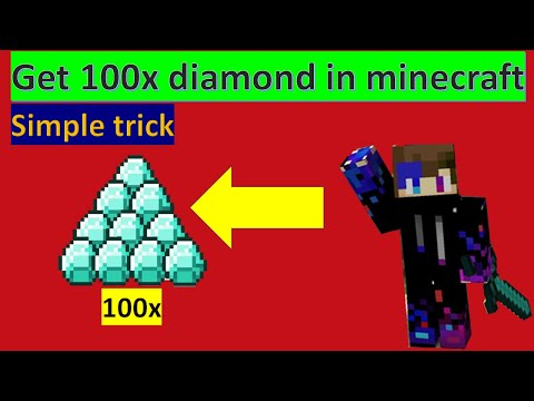 How to find minecraft diamond easy trick