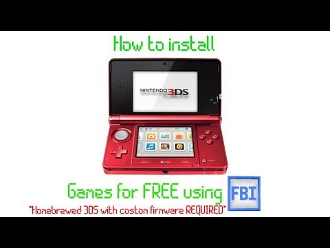 How to install 3ds games for free in 2020! (homebrewed 3ds required)