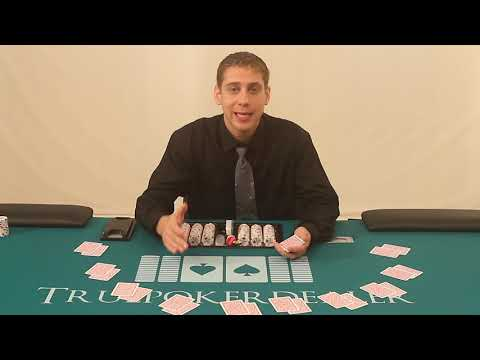 How to count the stub like a poker dealer - new unreleased footage