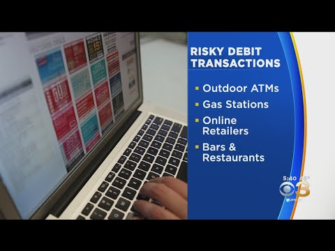 Experts reveals riskiest places to use a debit card
