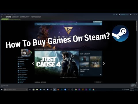 How to buy games on steam using debit/credit card