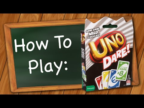 How to play uno dare