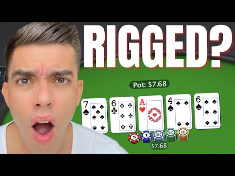 Why does online poker have so many bad beats?