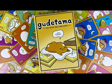 Gudetama - a last trick card game for 2-7 players