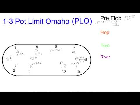 1-3 pot limit omaha how to calculate pot bets by dealer dave