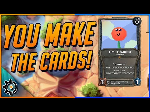 A card game where you make the cards!   collective early access review