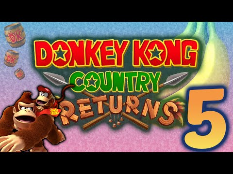 Donkey kong country returns: killer game theory! - part 5