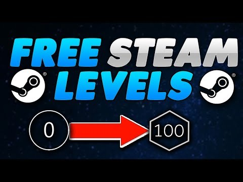 How to get free steam levels! steam trading cards for free!