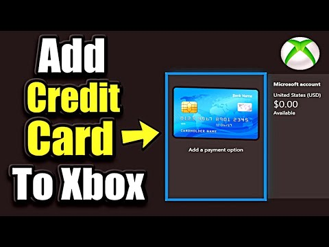 How to add a credit card to xbox account (easy method)
