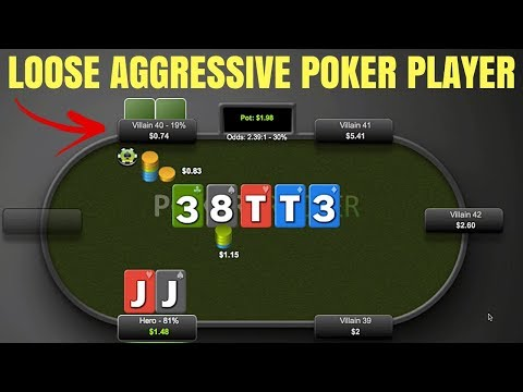How to beat a loose aggressive poker player (do this)
