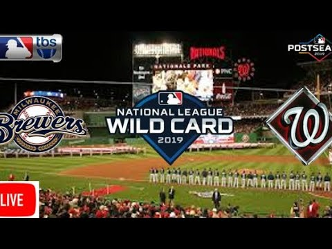 2019 nl wild card game | milwaukee brewers vs. washington nationals live stream | live play-by-play