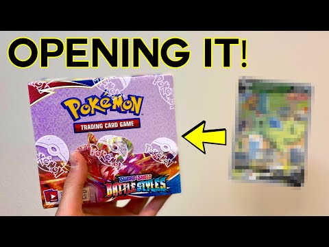 Opening a battle styles booster box! did i pull the tyranitar chase card?!