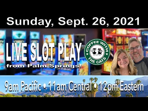 Winning slot play from palm springs!