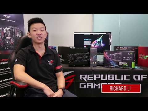 Asus rog strix-gtx 1070ti-a8g-gaming graphics card overview