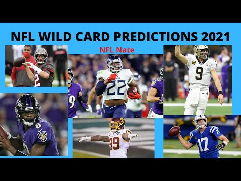 Nfl wild card picks and predictions 2021 | all 6 wild card game score predictions