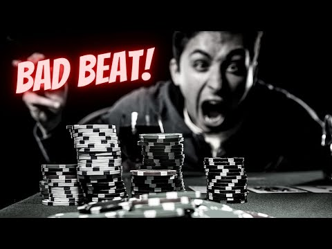 How to handle a bad beat in poker | texas hold'em poker strategy