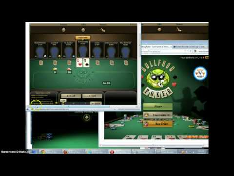 How to cheat at miniclip bullfrog poker - read description - and error 86 signup solution problem