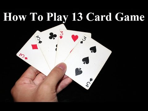 How to play 13 card game