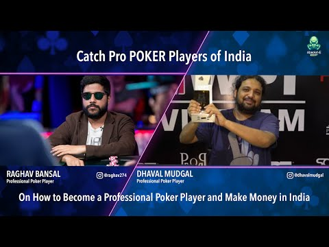 Part 2 - how to become a professional poker player & make money in india