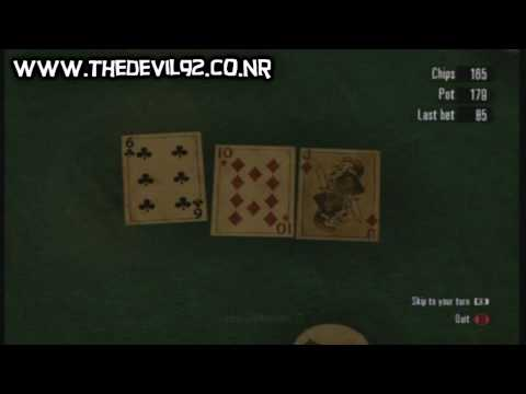 Red dead redemption - how to cheat at poker