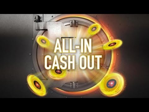 All-in cash out on pokerstars