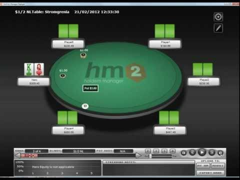 Online poker strategy: hand history-what to do facing river bets.mp4