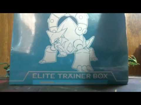 Pokemon trading card game steam siege elite trainer box opening doubles?!