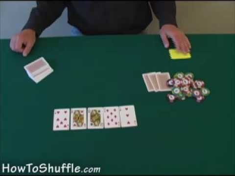 Poker board cards - how to deal poker