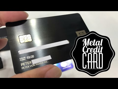 How to get a metal credit card