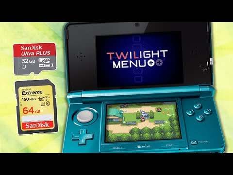 How to play any nintendo ds game on your old 3ds/2ds & new 2ds using your sd card (twilight menu )