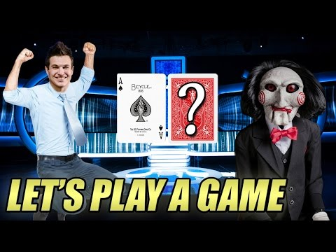 One card hold'em?! - silly game challenge