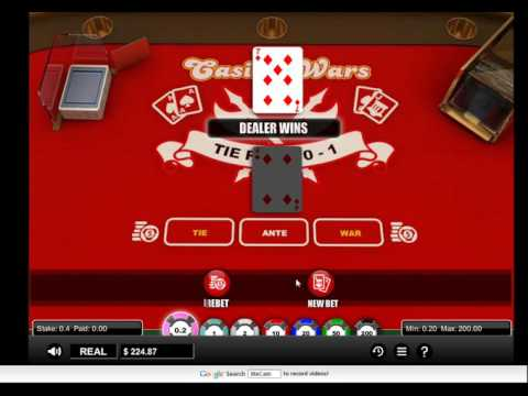 Casino war - easy game to play & win - online learn to play