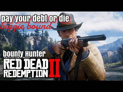 Lets play red dead redemption 2 online (xbox one) - bounty hunter: ace burr