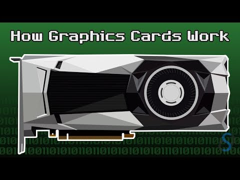 How graphics cards work | how gpu works (animation)
