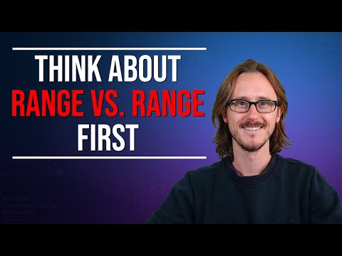 If you play poker you should think in ranges