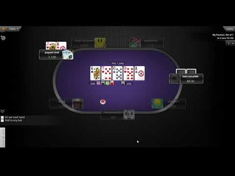 Best texas hold'em online poker strategy for tournaments