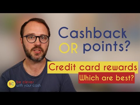 Credit card rewards: which are best? cashback vs miles vs points