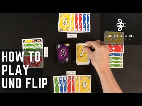 How to play uno flip