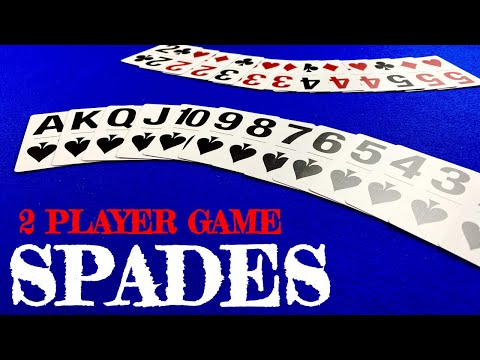 2 player spades - card games for 2 players