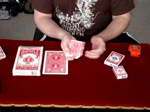 Tutorial on standard us playing card size variations