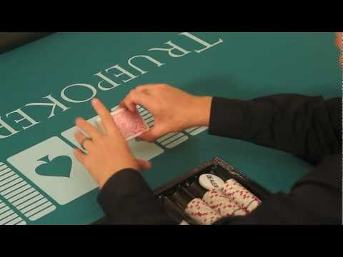 How to deal poker - how to shuffle cards - train with me - lesson 2 of 38