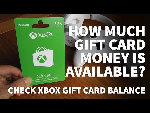 How to check xbox gift card balance – xbox gift card money for purchases without credit card