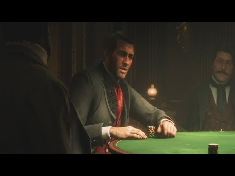 Red dead redemption 2 - the poker game (main story mission)