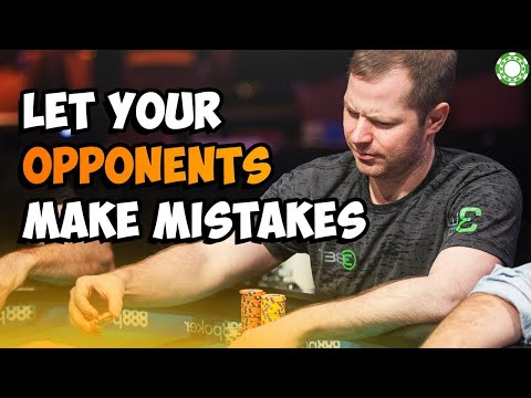 Let your opponents make mistakes a little coffee with jonathan little, 5 11 2020 1