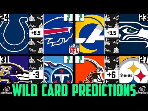 Nfl wild card score predictions 2021 (nfl playoff picks against the spread 2021)