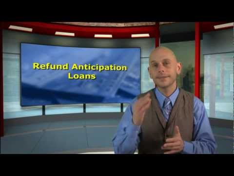 Watch out for rapid refund tax loans